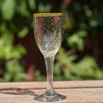 Rødvins glas m/optik