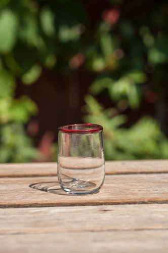 Lille vandglas u/optik
