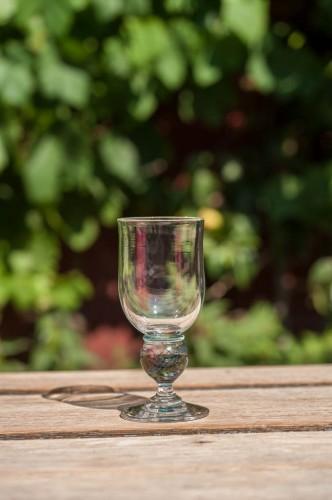 Vin glas m/kugle